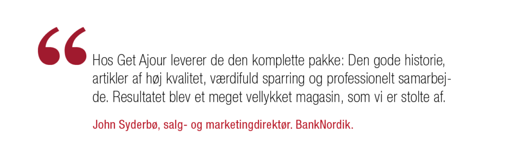 Citat BankNordik